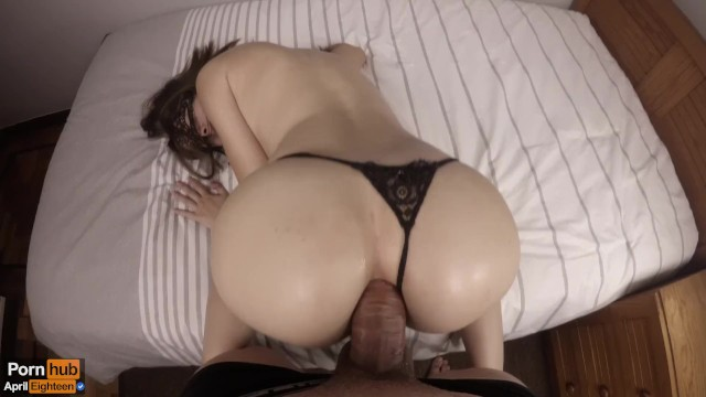 Pawg Teen Takes Up The Ass