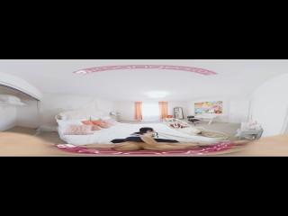 VR PORN – Cindy Starfall Asian teen Step sister get caught masturbating