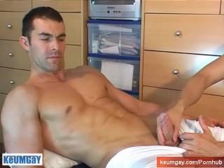 Handsome straight sport guy's dick to taste: Nikolas
