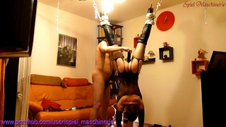 Slut hard whipped & rammed climax