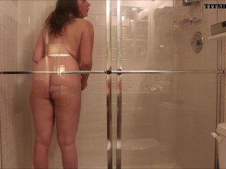 Caught perving on my shower