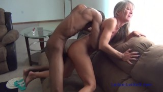 Screen Capture of Video Titled: Milf is Horny for BBC Again