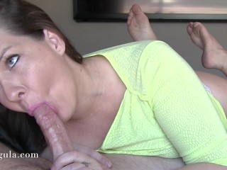 Cumming Twice – Sensual Bj Followed By Quickie Handjob – Huge Cumshots