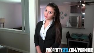 PropertySex - Rich millennial  fucks real estate agent