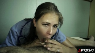 Nurse Gets A Mouth Full Of Cum - LJFOREPLAY