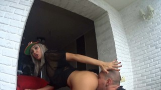 Screen Capture of Video Titled: girls in caps like anal fuck