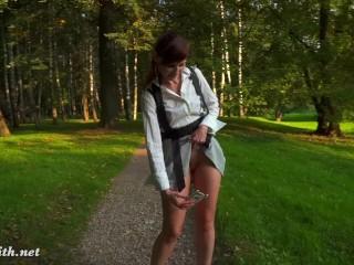 Anime Hentai Style Up Skirt Flashing by Jeny Smith