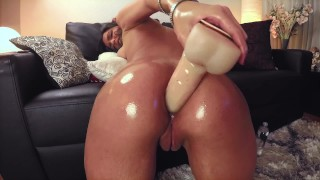 Extreme Anal Play 9 Inch Anal Toy