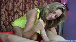 Screen Capture of Video Titled: Long Slow Handjob by Jodi West