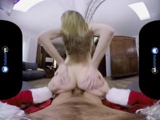 BaDoinkVR.com Santa's Fat Cock For Kimmy Granger's Teen Cunt
