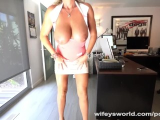 Wifey Blows MasterBlaster And Hub For Jizz