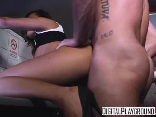 DigitalPlayground – Night Out, Vanessa Decker gets fucked in the bathroom