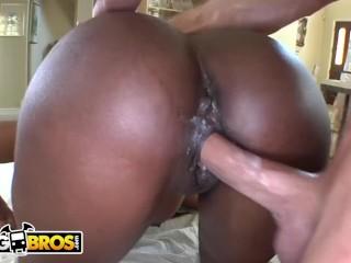 BANGBROS – Ebony MILF Nyomi Banxxx Gets Her Black Big Tits Massaged