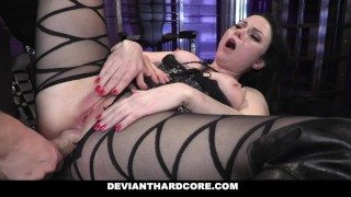 Deviant Hardcore - Submissive Whore Veruca James Fucked In The Ass