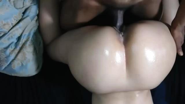 Big butt cum
