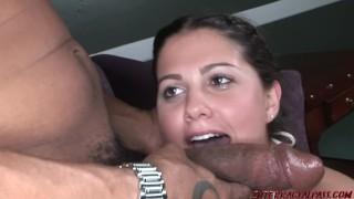 Hot 18 year old Carmella Diamond gets a big black cock stuffing