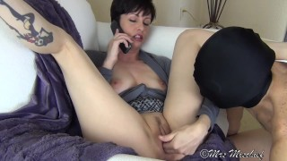 Cuck Hubby Sucks Out My Boyfriend's Creampie - femdom cuckold humiliation