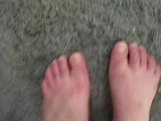 Feet Soaking In Bath