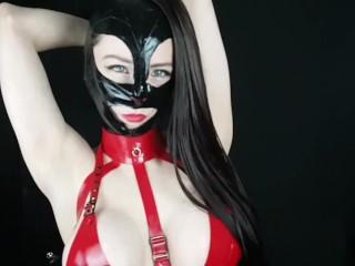 Custom kinky clip teaser tittyfuck, slave girl training fucking
