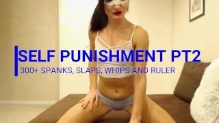 self spankingpart 2, 300+ spanks, slaps and whips