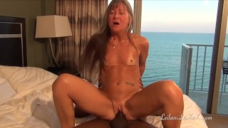 Sex at the Beach - Milf Fucks BBC