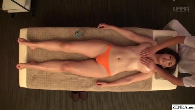 【水野朝陽】セレブグラマラス卑猥な、水野朝陽の寸止めマッサージプレイがエロい!【エロ動画】