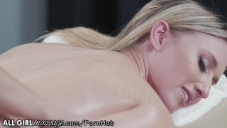 AllGirlMassage Abella Danger Licks,Fingers & Fists her to Ecstasy