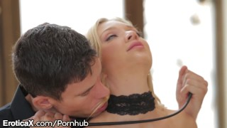 DSL White Asian Blonde Babe Likes Being Dominated By Daddy
