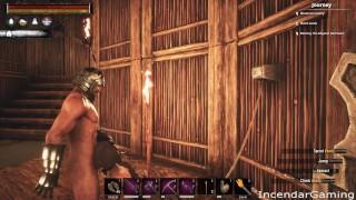 Incendar Facefucks Bound Slave Hard Cums. Video Game sex Conan Sexiles ERP