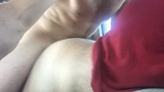 Cheating milf, casting, taking it from behind in my car.