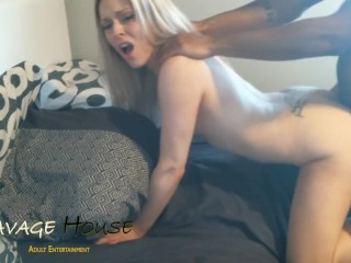 She Loves Getting Pounded & Owned By His Huge Dick