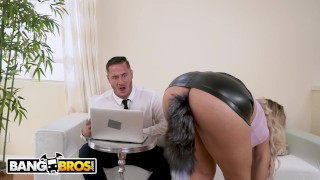 BANGBROS - MILF Secretary Assh Lee Gets Her Asshole Stretched By Her Boss