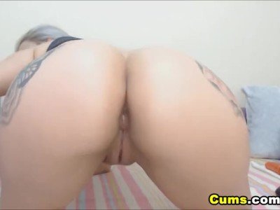 Big Tit Anal Masturbation
