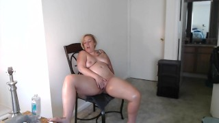 Naughty Milf Oils Up After Shower w/ JOI & Squirt