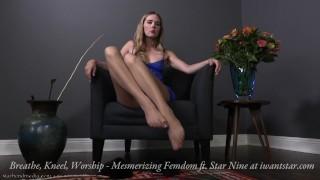 Breathe, Kneel, Worship - Star Nine Mesmerizing Femdom Trailer