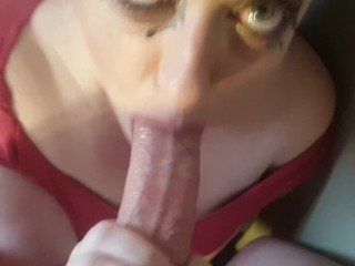 WIFEY FACE DESTROYED! RUINED MAKEUP ROUGH FACEFUCK ORAL CREAMPIE