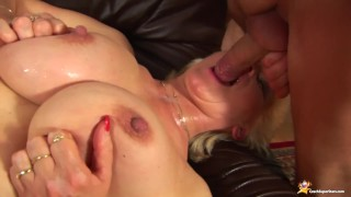 busty step mom fisted by her toy boy