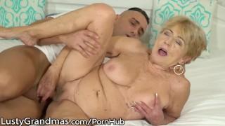 LustyGrandmas Very Mature Penetrated by Fresh Dick