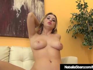 Horny Natalia Starr Dildo Fucks Her Sweet Pussy To Orgasm!