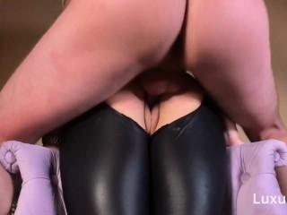 LuxuryGirl - Very Hot Russian Teen Fuck Through Leggings.