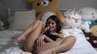 Screen Capture of Video Titled: JASMINE GREY SURPRISES HARDWORKING HUSBAND