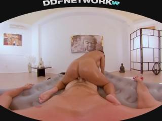 Hardcore Fuck & Oil Massage with Busty Chloe in POV 5k Virtual Reality