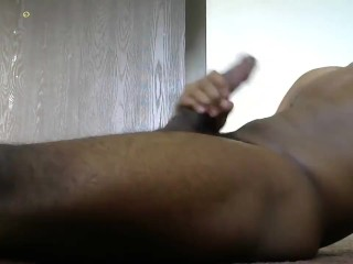 Black Twink edged and blew his load