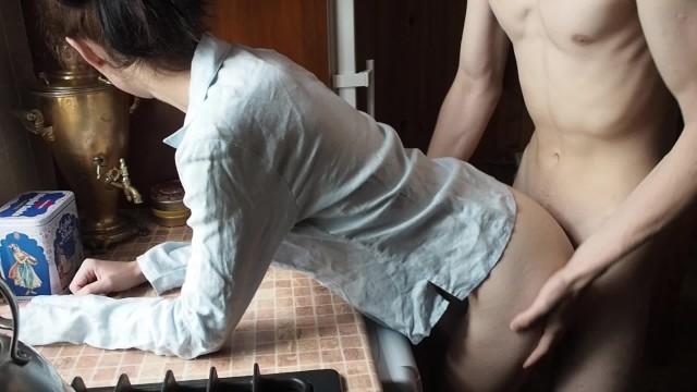 Kitchen Amateur Sex