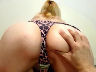 Pussy and Asshole close up POV