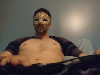 Ass teasing and creamy cum