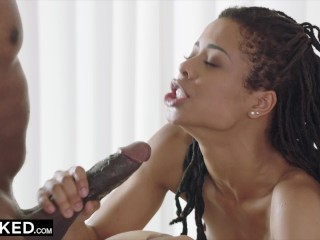 BLACKED Black woman introduces white girl to BBC