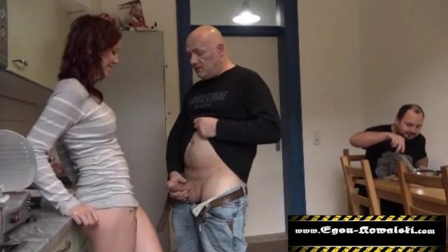 Ehemann Gets Seine Arsch Gefickt