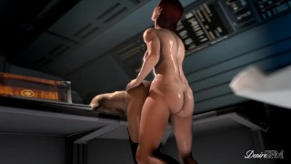 Miranda in Charge - Futa Femshep x Miranda (Mass Effect)