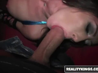 Reality Kings - Group of horny party girls get fucked in VIP